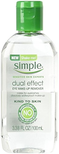 Simple Kind To Skin Eye Makeup Remover, Dual...