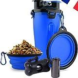 N/D Animava - Gourde Bouteille d'eau et Nourriture 2 en 1 Portable pour...