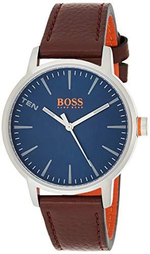 Hugo Boss Orange Reloj Análogo clásico para Hombre de Cuarzo con Correa en Cuero 1550057