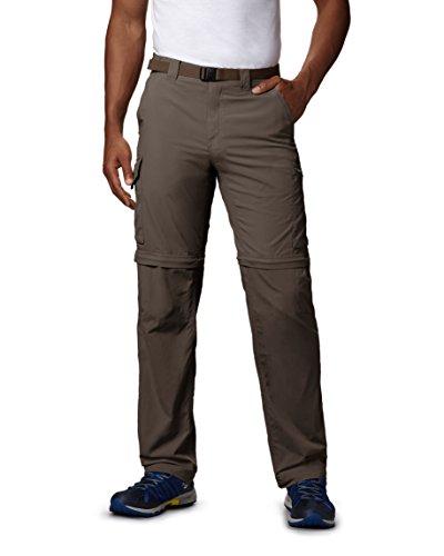 Columbia Silver Ridge Pantalón Convertible para Hombre, Transpirable, UPF 50