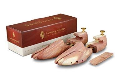 Langer-Messmer-Schuhspanner-aus-Zedernholz-Gre-4041-das-Original