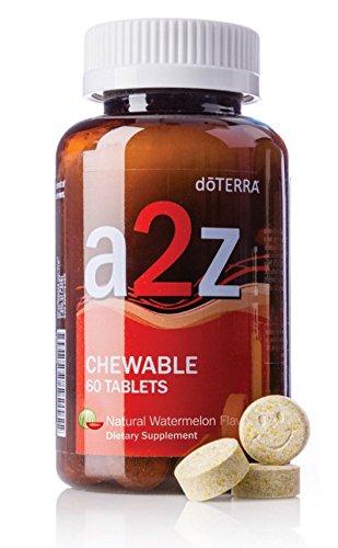 doTERRA - a2z Chewable - Natural Watermelon Flavor - 60 Tablets