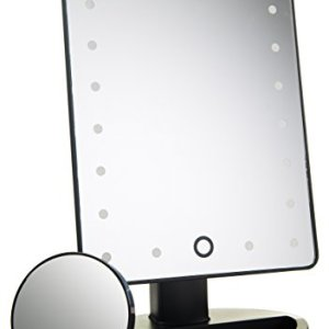 Absolutely Luvly Natural Daylight Lighted Makeup Mirror/Vanity Mirror with Touch Screen Dimming,Detachable 10X… 1