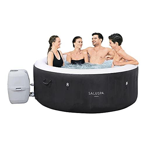 Bestway SaluSpa Miami Inflatable Hot Tub, 4-Person...