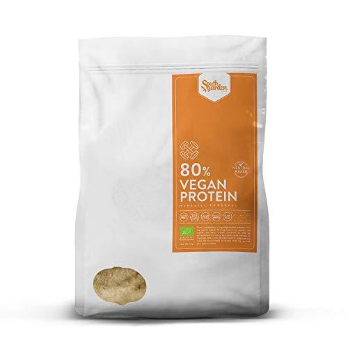 South Garden - Veganes Protein 80% BIO mit neutralem Geschmack, 1kg