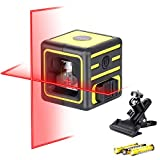 Firecore Self-Leveling Laser Level for Picture Hanging, Cross Line Laser Level for Construction(F212A)