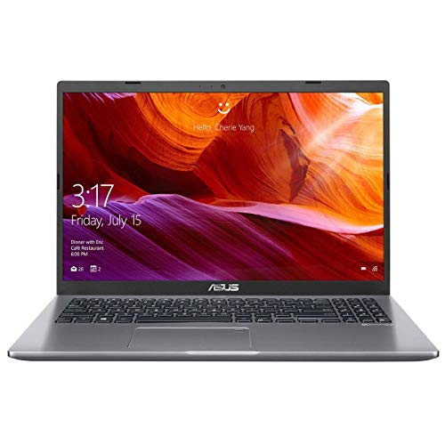 "ASUS X509 15.6"" Full HD Notebook Computer, Intel Core i7-8565U 1.8GHz, 8GB RAM, 256GB SSD, Windows 10 Home, Slate Gray"