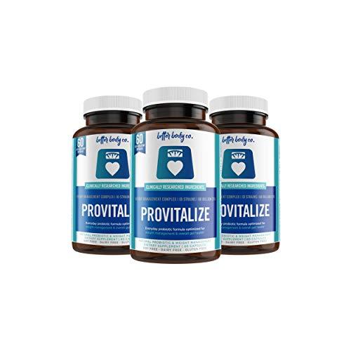 Provitalize | Best Natural Weight Management Probiotic (3 Bottles) 1
