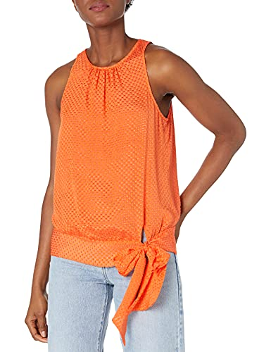 Textured georgette fabric Bow at hem Keyhole at center back