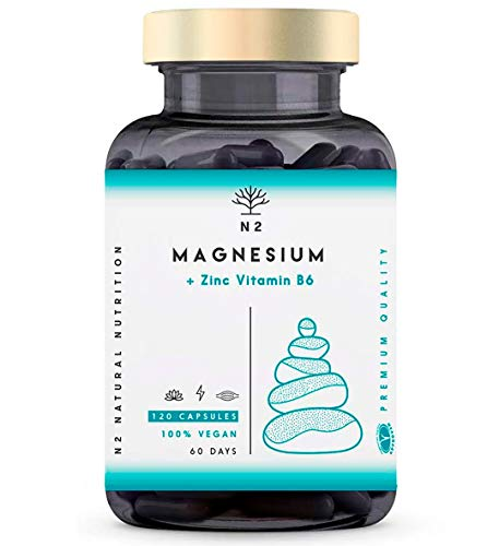 ZMA Magnesio Zinc Vitamina B6 Aumenta Nivel Testosterona Energía...