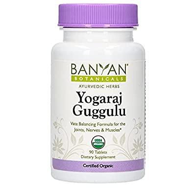 This traditional Ayurvedic formulation brings comfort and mobility to stiffened, dry joints that pop and crack, and helps ease the pain of sore muscles, nerves, and tendons.* The deeply penetrating actions of guggulu resin, coupled with a powerful bl...