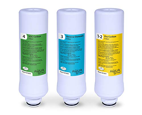 Product Image 8: AquaTru - Countertop Water Filtration Purification System with Perfect Minerals Drops - Exclusive 4-Stage Ultra Reverse Osmosis Technology (No Plumbing or Installation Required) | BPA Free