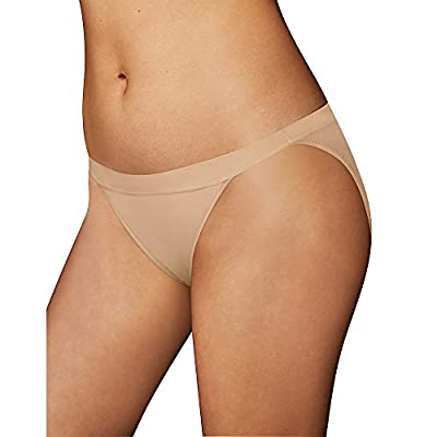 Beautiful, silky soft microfiber panties for everyday fabulous fit Sexy string bikini silhouette Coordinates with One Fab Fit bras to create bra and panty sets Beautiful lace details and tag-free 4-way stretch for a comfortable, flexible fit