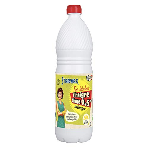 STARWAX FABULOUS Blanco, Contiene vinagre 9,5 ° de acidez.