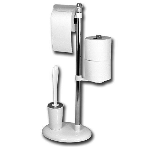 WC-Garnitur - WC-Papierrollenhalter - Toilettenbürste