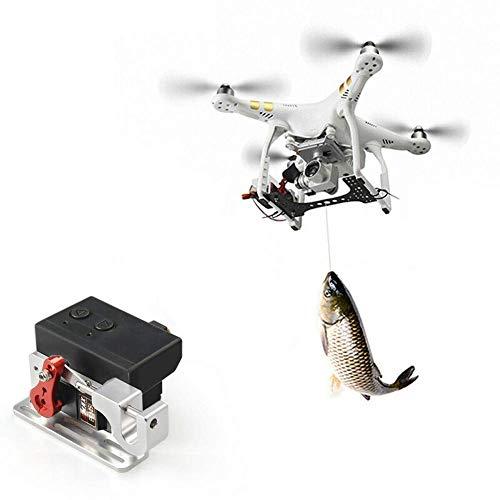 GCDN Drone Lancia, Drone Clip di Carico Airdrop Trasporto Dispositivo Drone Rilascio Pesca Esca...