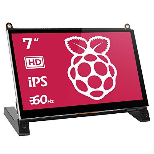Monitor de Pantalla Táctil, EVICIV Monitor USB Portátil de 7 Pulgadas Raspberry Pi Pantalla...