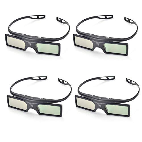 41wP6192a+L - The 7 Best 3D Active Glasses in 2020