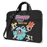 Hdadwy Powerpuff Girls Laptop Shoulder Messenger Bag Funda para maletín para 13 Pulgadas 14 Pulgadas 15.6 Pulgadas Funda para computadora portátil 13 Pulgadas