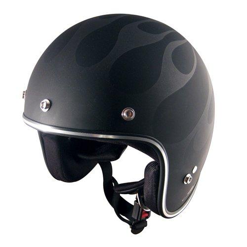 TNK工業 スピードピット JS-65GXαヘルメット マットブラック/ガンメタファイヤー BIG(60-62㎝未満) 51114 ジェット