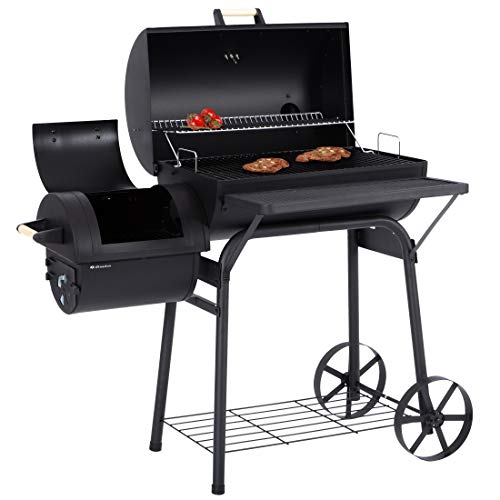 Ultranatura Denver - Smoker Grill, 2 Scomparti Fuoco − circa 119 x 66 x 135 centimetri.