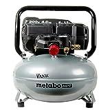 Metabo-HPT EC914SM 'THE TANK' 6-Gallon High Capacity Pancake Air Compressor (Renewed A)