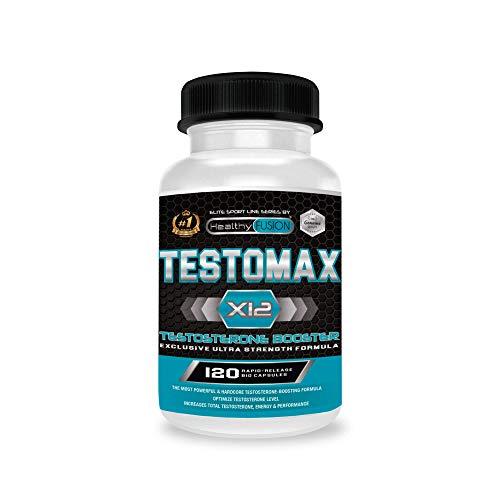Testosterona | Potente booster de testosterona pura | Con ma