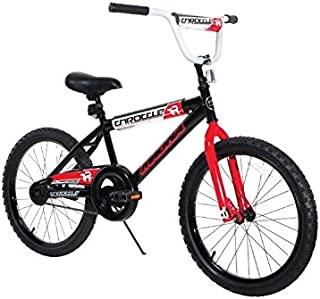 Dynacraft Magna Throttle Boys BMX Street Dirt Bike 20 Black Red White