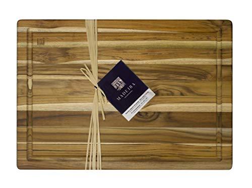 Madeira Cutting and Carving Board, Teak Edge-Grain, 20' x 14'
