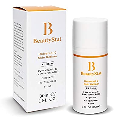 Scientifically Formulated, Patented & Clinically Tested: We took over 5 years to create the BeautyStat Universal C Skin Refiner with stable Vitamin C for you. This potent formulation is all about providing the results you expect from your skincare pr...