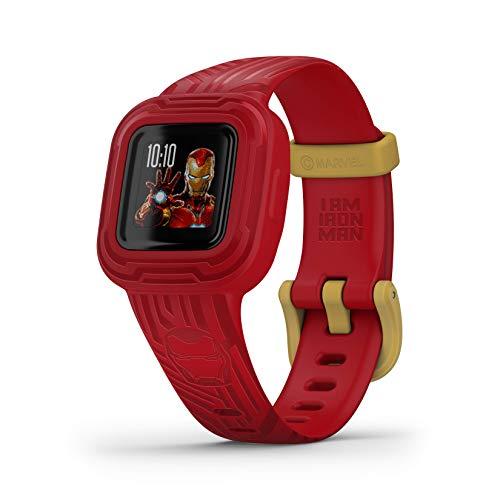 Garmin vivofit jr. 3 - Monitor de actividad para niños, Iron Man