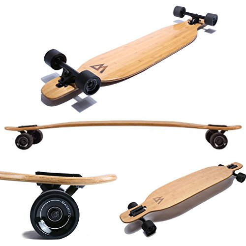 Magneto Longboards - Bamboo & Fiberglass Drop Through Longboard Cruiser