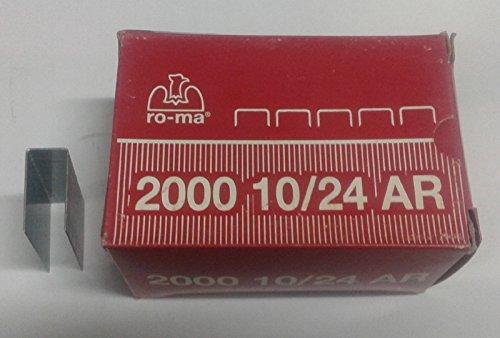 RO-MA Punti Metallici Galvanizzato 24 x 23.8 mm 1005113