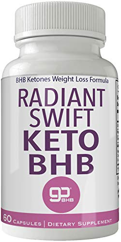 Radiant Swift Keto BHB 800mg Advanced Diet Pill Ketones Capsules Ketogenic Supplement for Weight Loss Pills 60 Capsules 800 MG GO BHB Salts to Help Your Body Enter Ketosis More Quickly 1