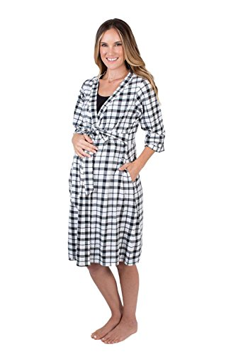 Baby-Be-Mine-Maternity-Labor-Delivery-Nursing-Robe-Hospital-Bag-Must-Have