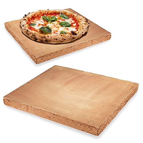 Biscotto di Casapulla Made in Italy Fornace Sorbo per Forno Tradizionale o Esterno 40 x 40 cm