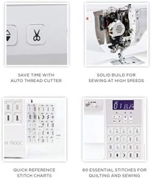 Janome Sewist 780DC Review & Accessories