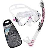 Cressi Marea Mask & Alpha Ultra Dry Snorkel Set