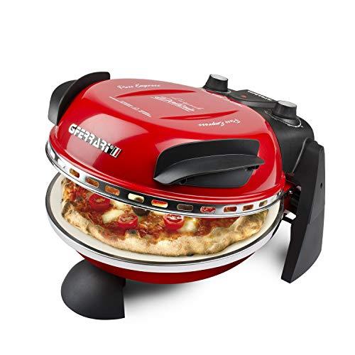 G3Ferrari G1000602 Delizia Forno Pizza Elettrico EVO, 1200W, Rosso
