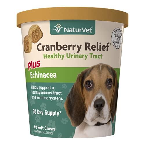 NaturVet – Cranberry Relief Plus Echinacea –...