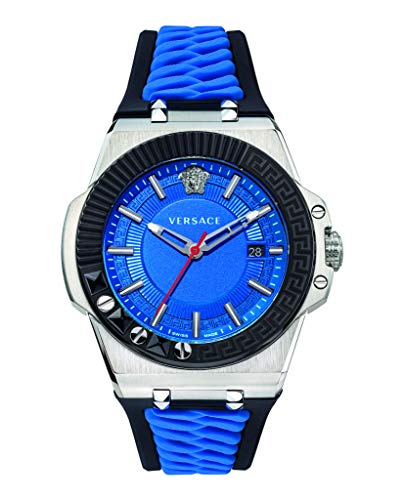 41wpNBVY86L 45mm Case Blue Black Strap Swiss Made