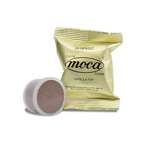 Caffè Moca Capsule Compatibili Lavazza Espresso Point FAP Caffè Intenso - 100 Capsule (100% Arabica)