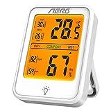 Aerb Hygrometre, Hygrometre interieur de Haute Précision, Indication du Niveau...