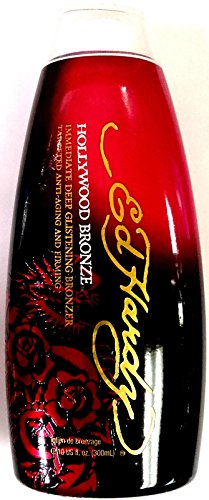 Ed Hardy Hollywood Bronze Indoor Tanning Bed Lotion Bronzer 10 Oz./300 Ml