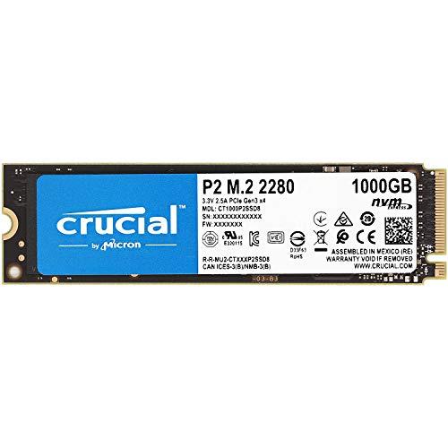 Crucial クルーシャル P2シリーズ 1TB(1000GB) 3D NAND NVMe PCIe M.2 SSD CT1000P2SSD8【5年保証】 [並行...