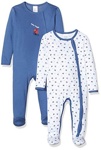 Schiesser Baby-Jungen Multipack 2pack Anzug + Beutel Zweiteiliger Schlafanzug, Mehrfarbig (Sortiert 1 901), 74 (2er Pack)