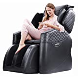 Kuntai New Massage Chair, 10 Angle Zero Gravity Massage Chairs Full Body and Recliner, Body Massager Electric Full Body, Intelligent Air Massage, Built-in Heating Triple Foot Massage Therapy, Black