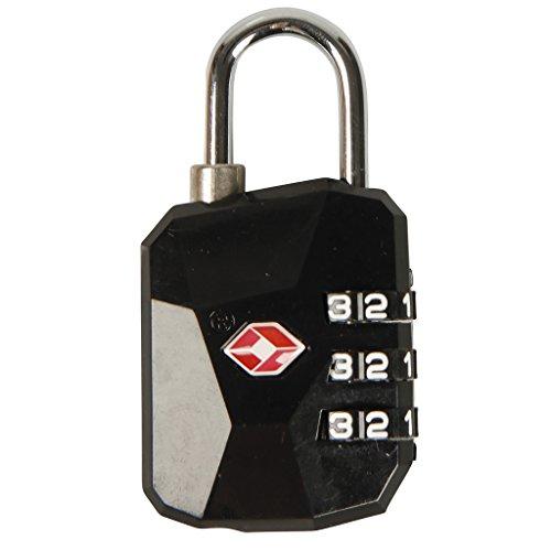 COGEX 80744 Cadenas TSA à Code 35 mm, Noir