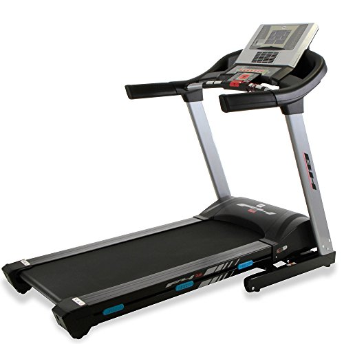 BH Fitness i.F4 G6426NW - Tapis roulant pieghevole, monitor LCD, doppio kit incluso, 20 km/h, 3,5...
