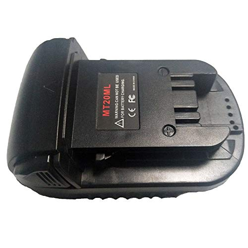 MT20ML Battery Converter Adapter USB Charger For Makita Convert 18V Li-ion Battery BL1830 BL1860 BL181 To For Milwaukee M18